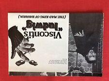 m6-9c ephemera 1970s film 2 page visconti ludwig helmet berger