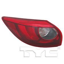 TYC NSF Left Side LED Tail Light Assy for Mazda CX-5 2016-2017 Models