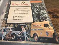 Vintage May 1967 Royalauto Magazine Holden Special R.A.C.V Melbourne Car Patrol