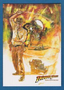 2008 INDIANA JONES Masterpieces Movie Promo Card Promotional   Topps P1
