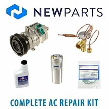 Honda Accord 2001-2002 3.0L Complete A/C Repair Kit With NEW Compressor & Clutch