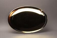 SELTEN Rosenthal Tac Dynamic Gold Gropius Bauhaus Fritsch Servier Platte oval