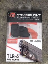 Streamlight Tlr-6 Tactical Pistol Mount Flashlight 100 Lumen Only for Glock Hand