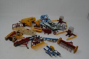 VINTAGE BRITAINS/ DINKY/CORGI FARM VEHICLE TOOLS/ ATTACHMENTS