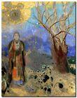 "Odilon Redon Buddha Abstract Art CANVAS PRINT painting poster 16""X12"""