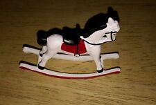 Dolls house toy rocking horse