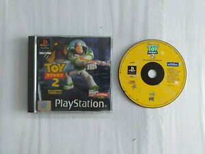TOY STORY 2 BUZZ LIGHTYEAR TO THE RESCUE PS1 GAME