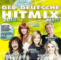 DER DEUTSCHE HITMIX-DIE PARTY 2014  CD NEU
