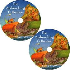 Andrew Lang Childrens Audio Book Collection on 2 MP3 DVDs Fairy Tales FREE SHIP