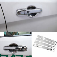 Fit For Ford Explorer 2011-2018 2019 Chrome Steel Outside Door Handle Cover Trim