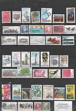 46 timbres du DANEMARK oblitérés  de 1991 à 2007 très bon état identique au scan