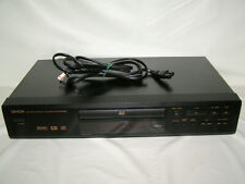 Denon Dvd-800 Single Disc Dvd/Cd Player Tested /Works Great - No Remote