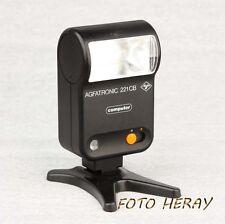 Agfatronic 221 CB Blitz mit Mittenkontakt für diverse Kameras 02176