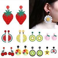 bijoux summer agiter les fruits des boucles d'oreilles cherry oreille étalon