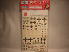 1/72 decals Germany Junkers JU-88   ESCI n°22