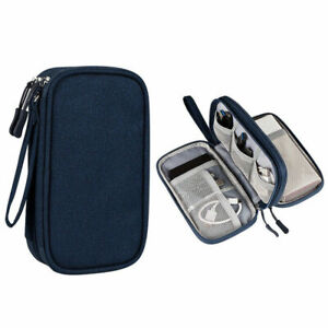 Travel Cable Bag Organizer Charger Storage Electronic USB Case Cord Accessories