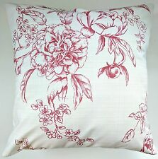 """CLEARANCE Cushion Cover in Next Dusky Pink Floral 16"""" Matches Curtains Bedding"""