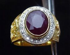 Bishop's Mitre 18K Gold Amethyst Diamond Ring