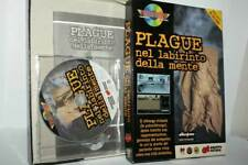 PLAGUE IN LABIRINTO OF MENTE GAME USED PC CDROM AND ENG BIG BOX FR1 55992