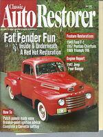 NG-018 - Classic Auto Restorer, May 1997, Fat Fender Fun, Pontiac Chieftain, TR6