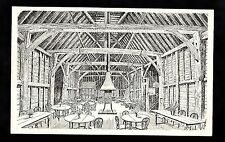 C1970s Illustrated view of interior, Old Barn Restaurant, Hildenborough, Kent