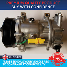 AIR CON COMPRESSOR PUMP TO FIT CITROEN BERLINGO C3 C4 PEUGEOT PARTNER 207 307