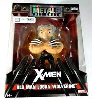 Metals Die Cast Old Man Logan Wolverine X-men NEW Loot Crate Jada Metals