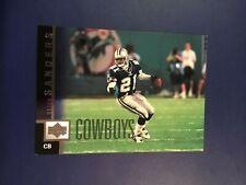 1997 Upper Deck # 139 Deion Sanders Dallas Cowboys Nice Football Card !
