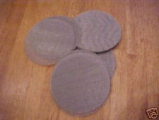 25 STAINLESS STEEL SCREEN FILTER DISKS BLANKS 4.330 INCHES O.D.  #1