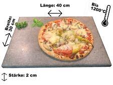 Brotbackstein / Pizzastein Naturstein 40x30x2cm  Made in Germany Ofen Grill
