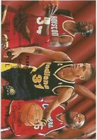 Olajuwon / Reggie Miller / Vaught Fleer Team Leaders 1994/95 NBA Basketball Card