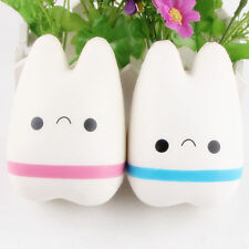 2 Pieces Teeth Squish Toys Anger Let Off Tooth Dental Clinic Gift Spring Back
