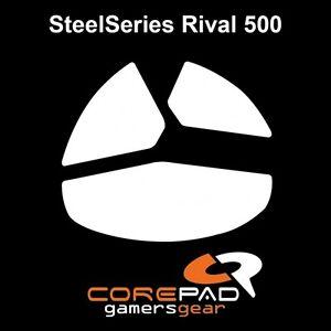 Corepad Skatez SteelSeries Rival 500 Souris Pieds Patins Téflon Hyperglides