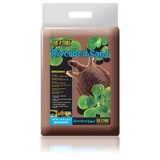 Exo Terra Riverbed Sand Brown 4.5kg Terrarium Turtle Substrate