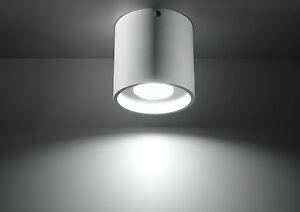 Light Modern LAMP LED ready Gu10 Ceiling Made In Eu HOME NL.0021- RODA 1 WHITE