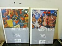 Civil War Front Line 6-7 LOT MARVEL AVENGERS BAGGED BOARDED