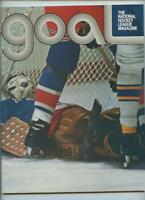 Jan. 1974 Vintage NHL Hockey Program Philadelphia Flyers New York Rangers GOAL