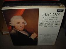 MARRINER / HAYDN six last masses ( classical ) 6lp box argo uk