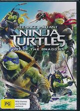 Teenage Mutant Ninja Turtles Out Of The Shadows DVD NEW SEALED Region 4