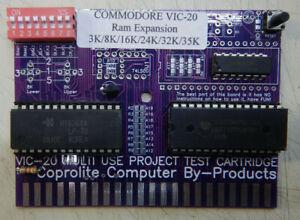 Commodore VIC-20 3K/8K/16K/24K/32K/35K Ram Expansion Cartridge