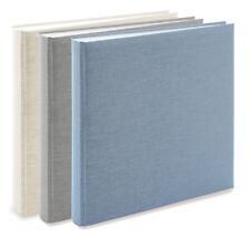 3x Goldbuch Fotoalbum Leinen Summertime 31x30cm, 100 weiße Seiten 31604