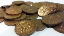 FULL ROLL 1976 CANADA ONE CENT PENNIES CIRCULATED