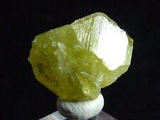 Chrysoberyll Kristall / Chrysoberyl crystal 9 mm Madagaskar (3068m)