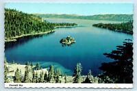 Lake Tahoe, CA - c1970s VIEW OF EMERALD BAY - VINTAGE CONTINENTAL POSTCARD - P2