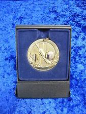 Cricket Batsman Bowler Award Medal Boxed FREE Engraving