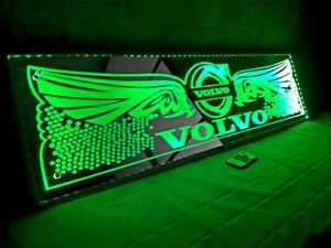 Volvo TRUCK LED MIRROR 12/24V TRUCK ACCESORIES FOR BAD TRUCK DECORATION 30×90cm