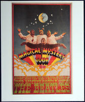 THE BEATLES POSTER PAGE 1967 MAGICAL MYSTERY TOUR REPRO POSTER . F14