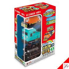 TITIPO & Friends Pullback Gear Mini Train Car Toy-Series 3/ Manny,Setter,Steam