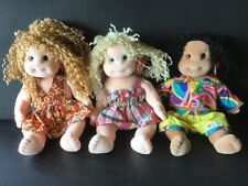 Lot of 3 TY Beanie Kids New With Mint Tag PE Pellets