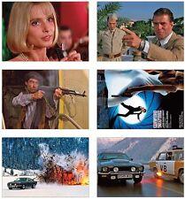 The Living Daylights James Bond 007 POSTCARD Set